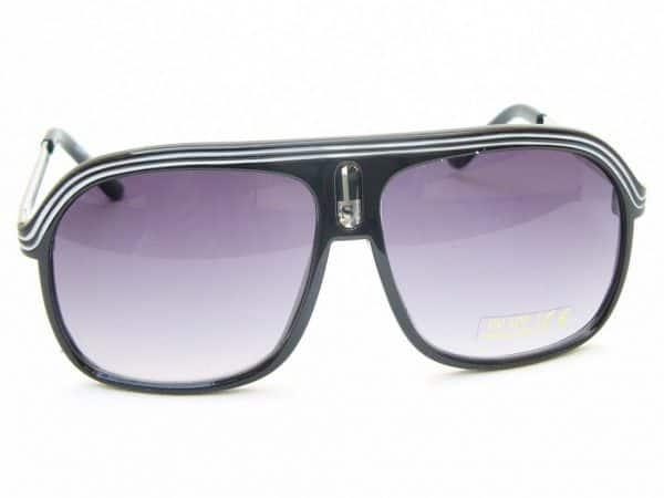 Aviator Sport (svart) - Retro solbrille