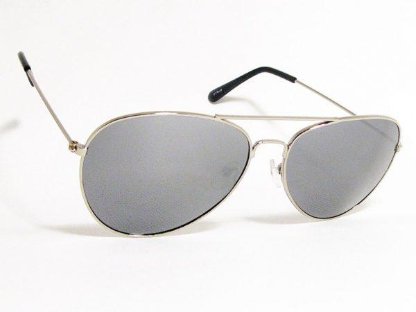 Pilot Mirror (sølv) - Pilot solbrille