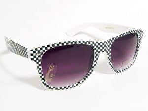 Wayfarer Xeque-mate (hvit / svart) - Wayfarer Solbrille