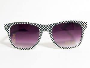 Wayfarer Mat (hvit / svart) - Wayfarer solbrille