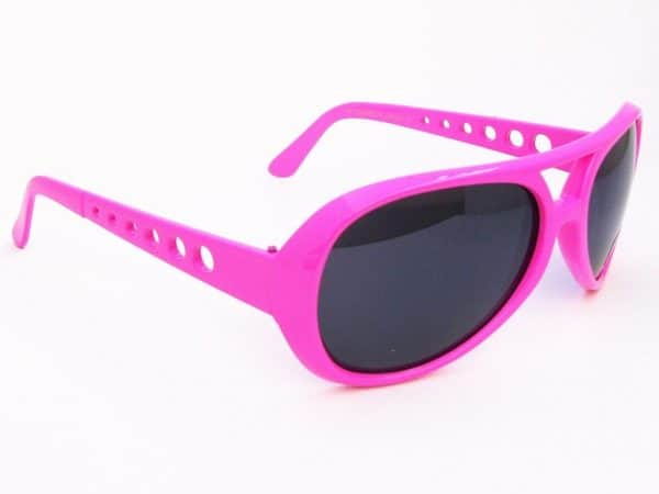 Elvis Color (rosa) - Retro solbrille