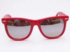 Wayfarer Mirror (rød) - Wayfarer solbrille