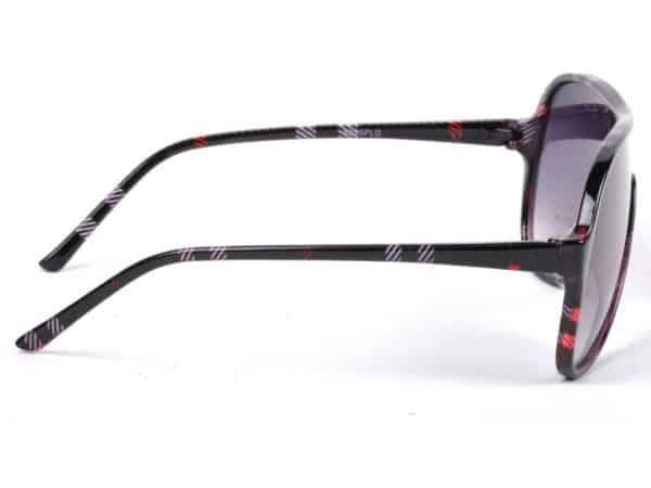 Aviator Pläd (rød) - Aviator solbrille