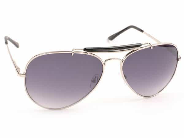 Pilot Färg Mirror (vit) - Pilot solbrille