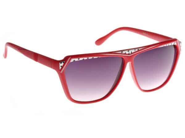 Retro Vild (rød) - Retro solbrille