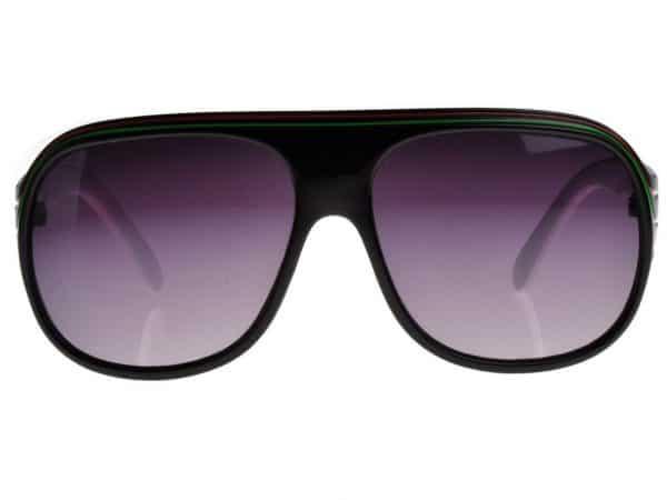 Billionaire Färg (svart / vit) - Retro solbrille