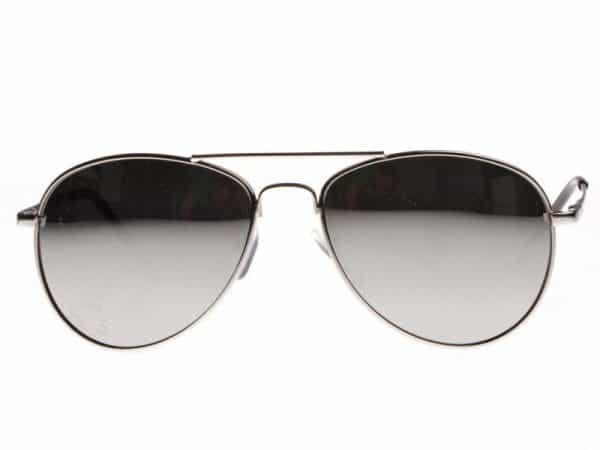 Pilot Sudrabs Mirror-  Pilot solbrille