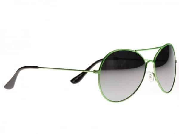 Pilot sidabras Mirror (grønn) - Pilot Solbrille