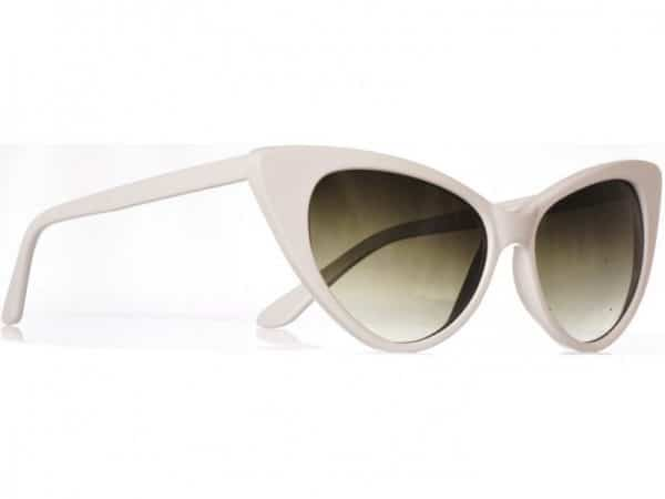 Cateye Classic (vit) - Fashion solbrille