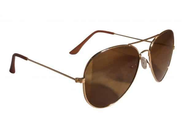 Pilot Smoke (guld) - Pilot solbrille