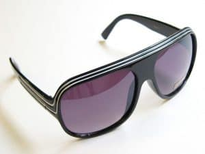 Billionaire Classic (сварт) - Retro solbriller