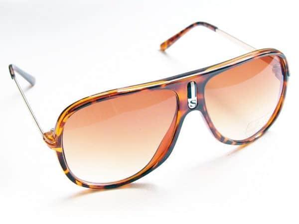 Aviator Sport (Schwarz) - Vintage Sonnenbrille
