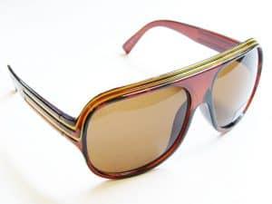 Billionaire Classic (brun / mås) - Vintage solbrille