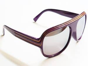Billionaire Mirror (lilla) - solbrille vintage
