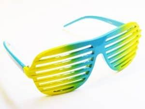 Aviator Zarámovaný (racek / svart) - Retro solbrille