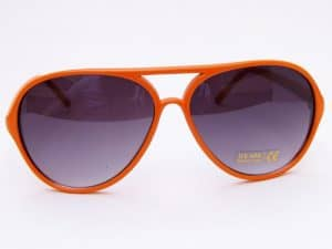Retro Aviator (Orange) - Retro Solbrille