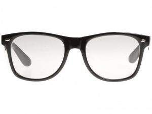 Wayfarer Clear (svart) - Wayfarer solbrille