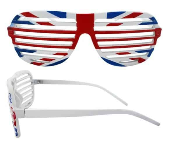 Shutter nyanser Storbritannien - Retro solbrille