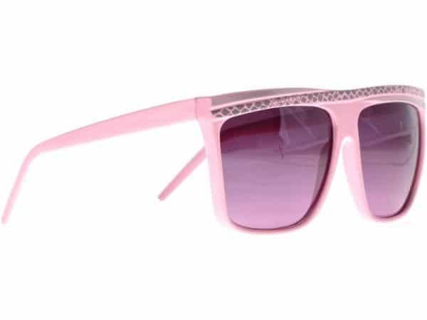 Retro Stripes (rosa) - Retro solbrille