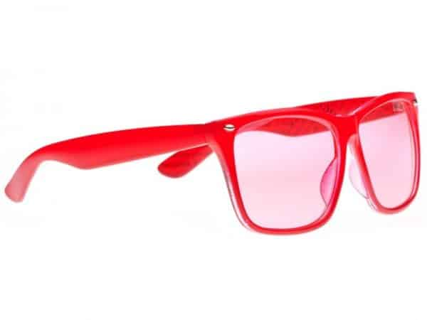 Wayfarer Oversized (rød) - Wayfarer Solbrille