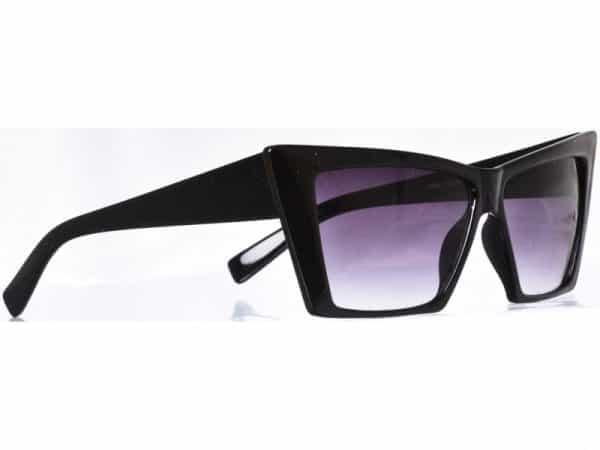 Cateye Squarr (svart) - Retro solbrille