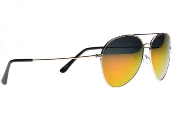 Pilot gul / lila mirror  -  Pilot solbrille