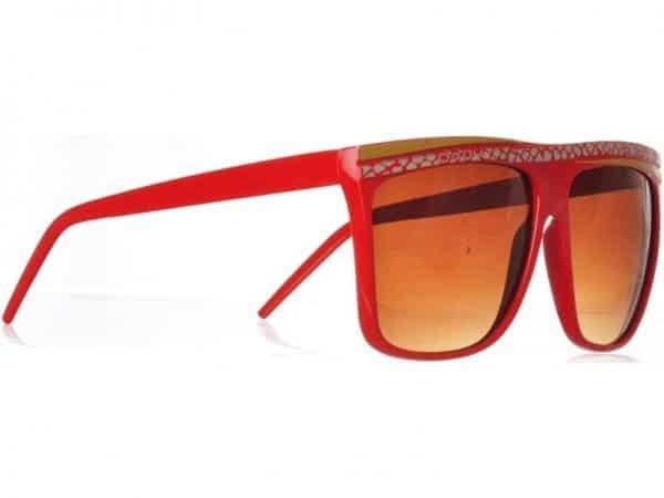 Retro Stripes - (stång) - Retro solbrille