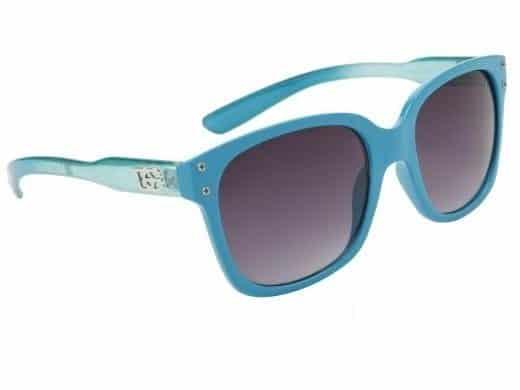 DE  Retro Hollywood (turkis) - Wayfarer solbrille