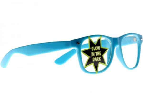 Wayfarer Clear Glow-in Dark (bleu) - Wayfarer Solbrille