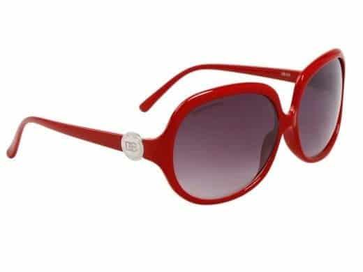 DE  Paris Oval (rød) - Förvara solbriller