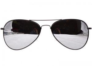Pilot melns Mirror  -  Pilot solbrille
