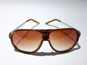 Aviator Sportas (brun) - Pilot Solbrille