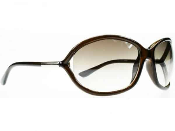 Milan Oval (brun) - Fashion Solbrille