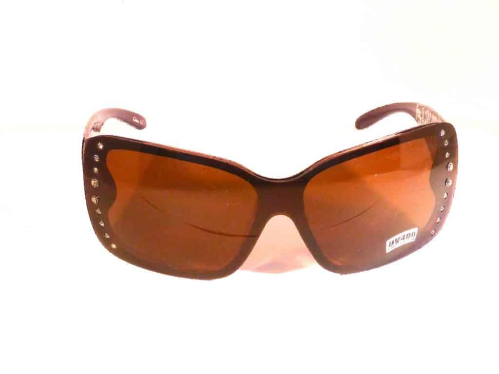 Designersolbrille (svart) - Фасихон солбрилье