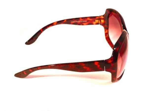 Paris Oval (brun) - Fashion solbrille