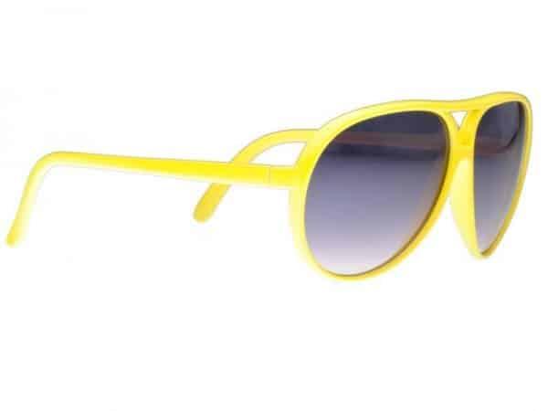 Aviator Classic (gul) - Retro Solbrille