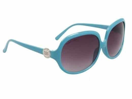 DE  Paris Oval (turkis) - Retro solbrille