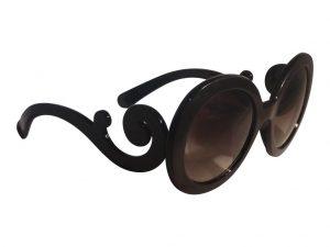 Kiss Oval (Черный) - Большие солнцезащитные очки