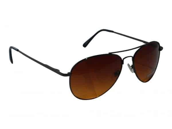 Pilot Brun (svart) - Pilot solbrille