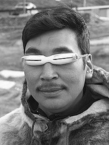 Inuit solglasögon